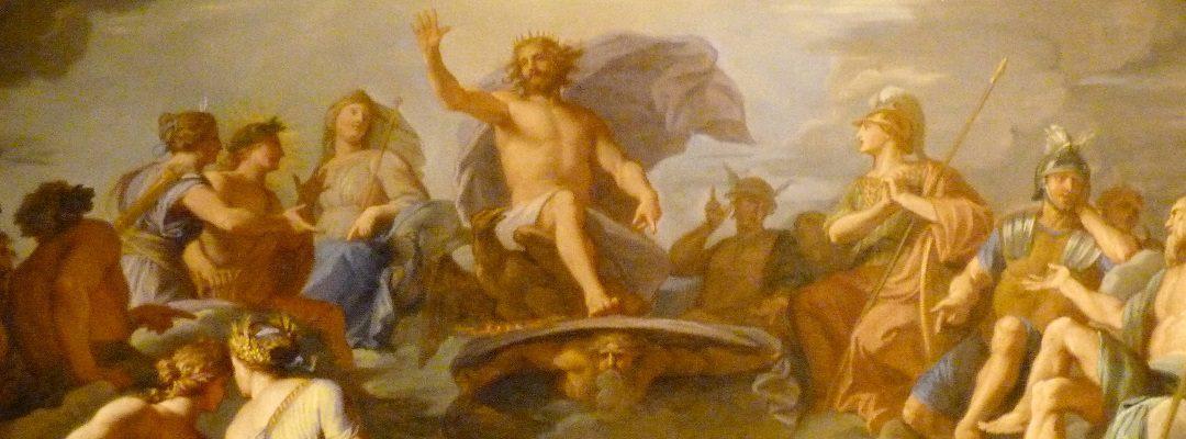 Die griechischen Götter auf dem Olymp