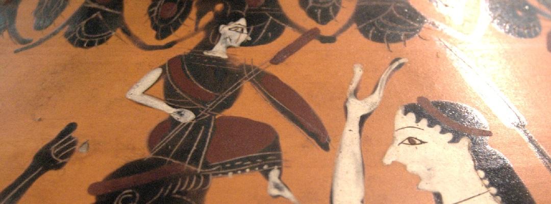 Eileithyia und Zeus